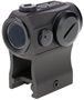 Picture of Holosun Reflex Sights - HE403GL-GR Micro Reflex Sight, Black, 2 MOA Green Dot,10DL & 2NV Brightness Settings, Rotary Switch, Multi-Layer Coating, Waterproof IP67, Motion Sensor, w/Lower 1/3 AR Height Mount & Low Base, CR2032, 50,000 hrs
