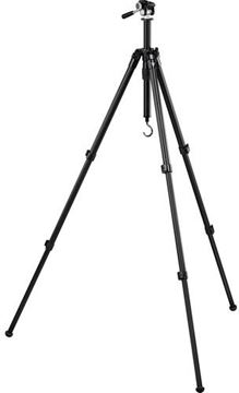 "Picture of Vortex Optics Accessories - High Country II Aluminum Tripod, 10.8"" - 62.25"", Folded Height: 24.4"", Pan Head, 3.8 pounds, Inc. QD Plate, Packing Strap, Counterweight Hook & Carry Case"