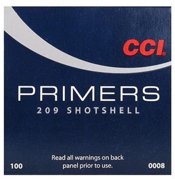 Picture of CCI Primers, Shotshell Primers - No. 209, Shotshell Primers, 1000ct Brick