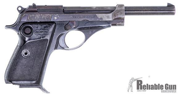 "Picture of Beretta 71 C.B.S Surplus Semi-Auto Pistol - 22 LR, 6"", (152mm), Fixed Sights, Cross Bolt Safety, Black Plastic Grips,1 Magazine, Fair Condition"