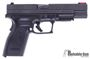 """Picture of Used Springfield Armory XD-40 Tactical Semi-Auto Pistol - 40 S&W, 5"""" Barrel, Ambi Mag Release, Rail, Tru-Dot Fixed Rear & Fiber Optic Front Sight (Red), 2 Mags & Original Case, 9mm Conversion Barrel, Good Condition"""