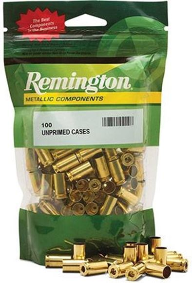 Picture of Remington Ammunition Components, Consumer Pack Unprimed Pistol & Revolver Brass - 357 Maximum, 100ct Bag