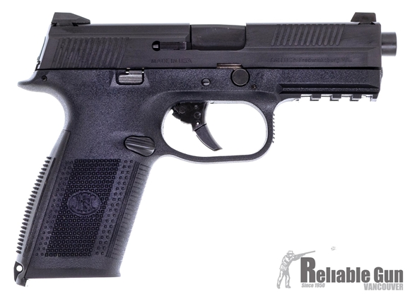 Picture of Used FN Pistol FNS-9, 9mm Semi Auto, 4.25' Barrel, Black Slide & Frame, 3 Mags, Original Case, Excellent Condition