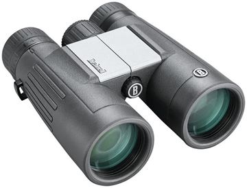 Picture of Bushnell Binoculars, Powerview 2 - 10x42mm, Non-Slip Design, Rubber Armored, Fully Multi Lens Coating, Tripod Compatible, Aluminum Alloy Chassis
