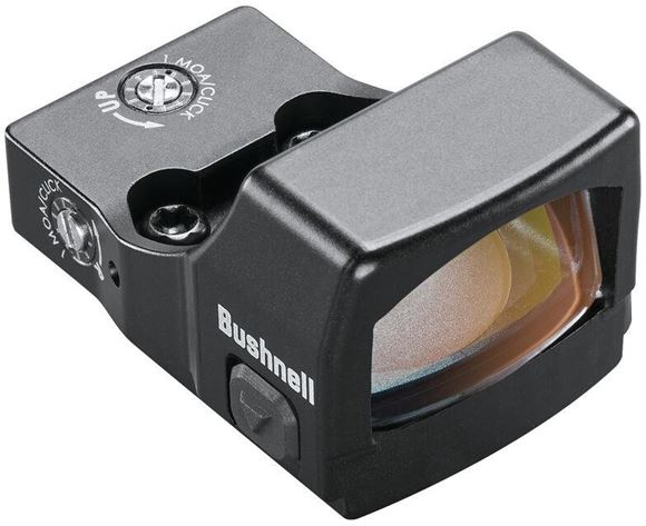 Picture of Bushnell Electro-Optics Red Dots -  RXS-250 Reflex Sight, Matte, 4 MOA Red Dot, Waterproof/Fogproof/Shockproof, 50,000 hrs, Deltapoint Footprint, Pistol/Rifle/Shotgun Compatible, 12 hr Auto-Off