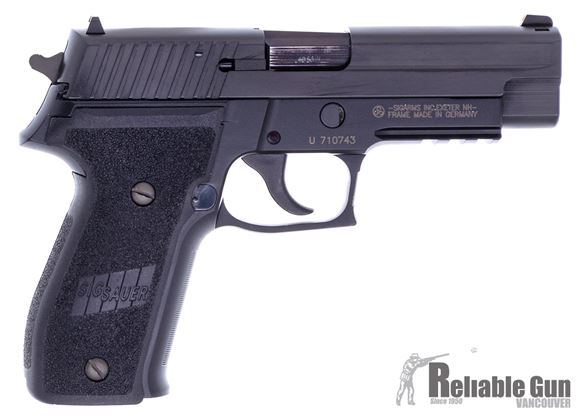 """Picture of Used Sig Sauer 226R Semi-Auto - 40 S&W, 4.5"""" Barrel, Black, 3 Magazines, Original Box, Frame Made In Germany, Very Good Condition"""