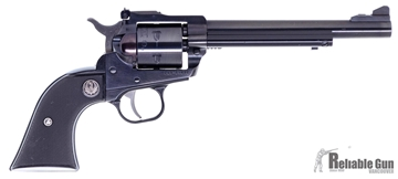 """Picture of Used Ruger Single Six Single Action Revolver, 17 HMR, 6.5"""" Blued, Synthetic Grip, Excellent Condition"""