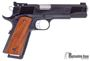 Picture of Pre Owned Unfired, Les Baer Premier II Custom Trijicon Night Sights, 45 Acp, 5'', 1911 Pistol, Blued Frame And Slide, Deluxe Checkered Grips, 2 Magazines, New Condition