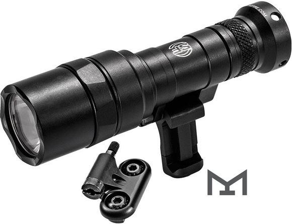 Picture of SureFire M340C Mini Scout Light Pro Flashlight - 500 lumens, 1 hours, 175 Meter Distance, 123A Lithium Battery Inc., Mil-Spec Hard-Anodized, Black