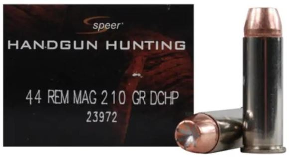 Picture of Speer Gold Dot Personal Protection Handgun Ammo - 44 Rem Mag, 210gr, GDHP