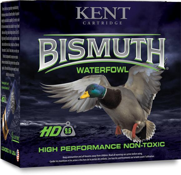 "Picture of Kent Bismuth Waterfowl HD Non-Toxic Shotgun Ammo - 20Ga, 3"", 1oz, #3, High Density 9.6, 25rds Box, 1400fps"