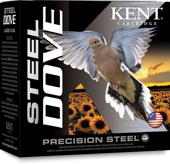 "Picture of Kent Steel Dove Precision Steel Shotgun Ammo - 12Ga, 2-3/4"", 1oz, #6, 25rds Box, 1400fps"