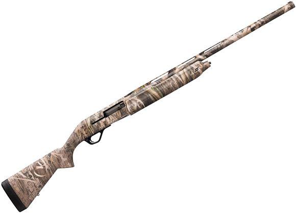 "Picture of Winchester SX4 Waterfowl MOSGH Semi Auto Shotgun - 12ga, 3-1/2"", 28"" Chrome Lined, Vented Rib, Mossy Oak Shadow Grass Habitat Camo Synthetic Stock, TRUGLO Fiber-Optic Sight, Invector-Plus Flush(F,M,IC)"