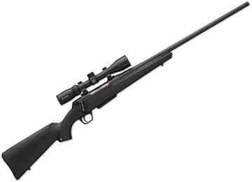 "Picture of Winchester XPR Scope Combo Bolt Action Rifle - 6.5 PRC, 24"", 1:8"", Matte Perma-Cote Finish, Black Synthetic Stock, 3rds, No Sights, Vortex Crossfire II 3-9x40 with BDC Reticle"