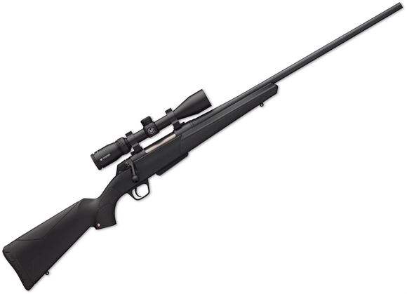 """Picture of Winchester XPR Scope Combo Bolt Action Rifle - 6.5 PRC, 24"""", 1:8"""", Matte Perma-Cote Finish, Black Synthetic Stock, 3rds, No Sights, Vortex Crossfire II 3-9x40 with BDC Reticle"""