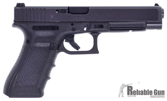 Picture of Used Glock 35 Gen4 40 S&W, 5.5'' Barrel,  Adjustable Rear Sight, 4 Magazines, Made In Austria, Original Box, Manual. Excellent Condition