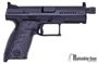 Picture of Used CZ P10C Semi-Auto 9mm Luger, Suppressor Height Tritium Sights, Talon Rubber Grip Panels, 2 Mags & Original Case, Very Good Condition