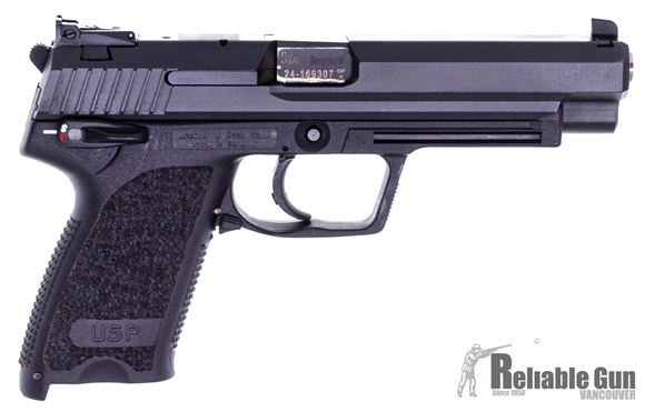 """Picture of Used HK USP Expert Semi-Auto 9mm, 5"""" Barrel, With 2 Mags & Original Case, Excellent Condition"""