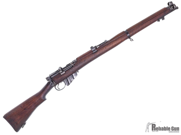 Picture of Used Lee Enfield No 1 Mk III* Bolt-Action 303 British, Full Military Wood, 1942 Dated, Non-Matching, Good Condition
