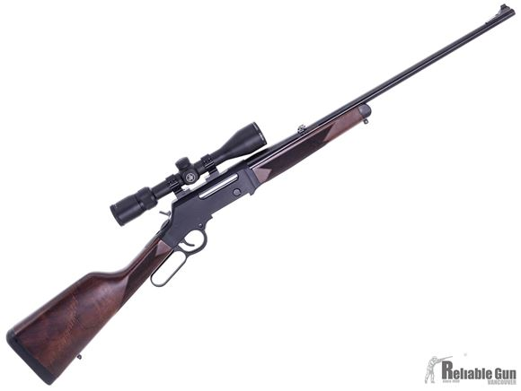 """Picture of Used Henry Long Ranger Lever Action Rifle - 6.5 Creedmoor, 20"""", Blued, Adjustable Sights, American Walnut Stock, 1 Magazine, Vortex Diamondback 3-9x40, Excellent Condition"""