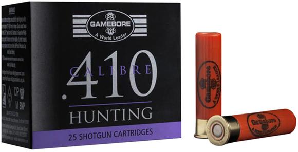 "Picture of Kent Cartridge Gamebore Shotgun Ammunition - 410, 2-7/8"", 7/8oz, #6, Plastic Wad, 500rds Case"