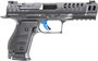 """Picture of Walther PPQ Q5 Match SF Optic Ready Semi-Auto Pistol - 9mm, 5"""", Steel Frame, Quick Defense Trigger, Adjustable Rear & Red Fiber Optic Front Sight, Black, 3x10rds, Optic Ready"""