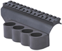 Picture of Mesa Tactical Aluminum Shotshell Carriers, Shotshell Carriers w/Integrated Picatinny Rail - Benelli M4/M1014, 4-Shell, 12Ga, 5-1/2""