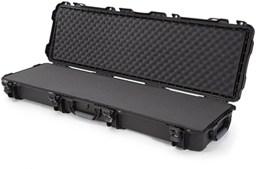 """Picture of Nanuk Professional Protective Cases - 995 Double Rifle Case, Foam, Waterproof & Impact Resistant, 52"""" x 14.5"""" x 6�, Black"""