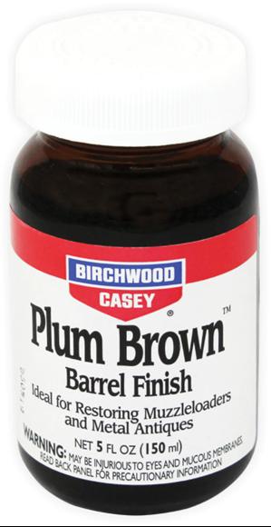 Picture of Birchwood Casey Refinishing, Metal Finishing - Plum Brown Barrel Finish, 32 oz, 1qt.