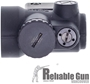 Picture of Used Trijicon MRO - 1x25mm, 2.0 MOA Adjustable Red Dot, 1/2 MOA Click Value, w/Lower 1/3 Co-Witness Mount, Original Box, Good Condition