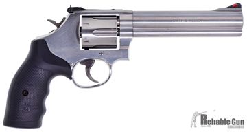 """Picture of Used Smith & Wesson 686-6 Double-Action 357 Mag, 6"""" Barrel, Stainless, Excellent Condition"""