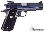 "Picture of Used Colt 1911 Combat Commander Semi-Auto 45 ACP, 4.25"", Blued, Ambi Slide Stop & Safety, Extended Mag Release & Magwell, Rubber Wraparound Grips, One Mag, Adjustable Sights, Good Condition"
