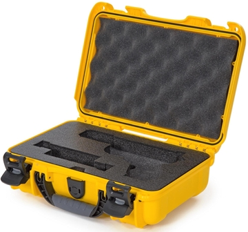 Picture of Nanuk Cases 909-GLOCK4 909 Case for Glock Pistols - Yellow