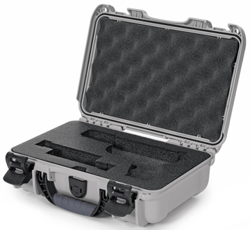 Picture of Nanuk Cases 909-GLOCK5 909 Case for Glock Pistols - Silver
