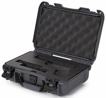 Picture of Nanuk Cases 909-GLOCK7 909 Case for Glock Pistols - Graphite