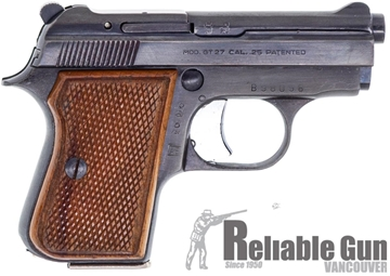"Picture of Used Tanfoglio Model GT27 Semi Auto Pistol, 25 Auto, 2 1/2"" Barrel"", Wood Grip, 1 Mag, Excellent Condition"